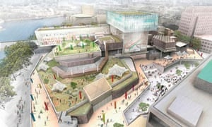 The architects' view of the new Southbank Centre.
