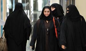 Saudi women, Catherine Bennett