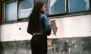 a young trafficked woman, Vilnius, Lithuania