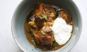 Nigel Slater's aubergine curry