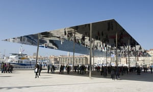 A shiny shade structure for Marseille by Foster and Partners