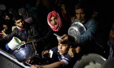 Syrian refugee camp, Campbell