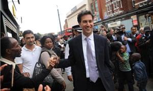 Ed Miliband visit to Lewisham