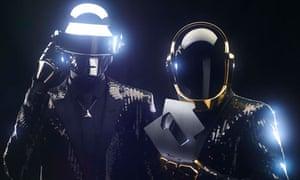 Daft Punk stay at no1
