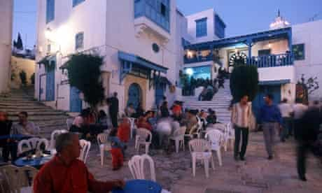 sidi bou said cafe