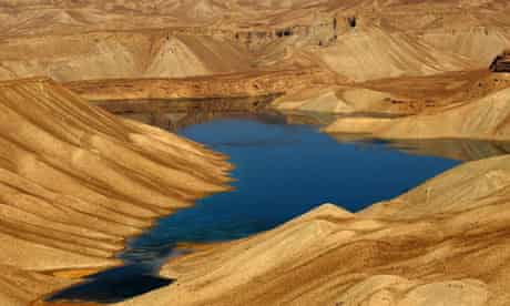 Band-e-Amir lake, And the Mountains Echoed, books