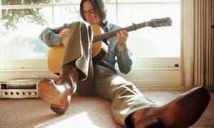 James Taylor Strumming Guitar