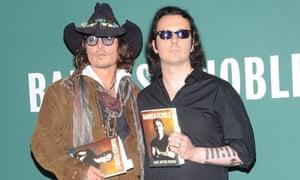 Damien Echols with Johnny Depp