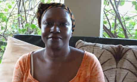 Ugandan author Doreen Baingana