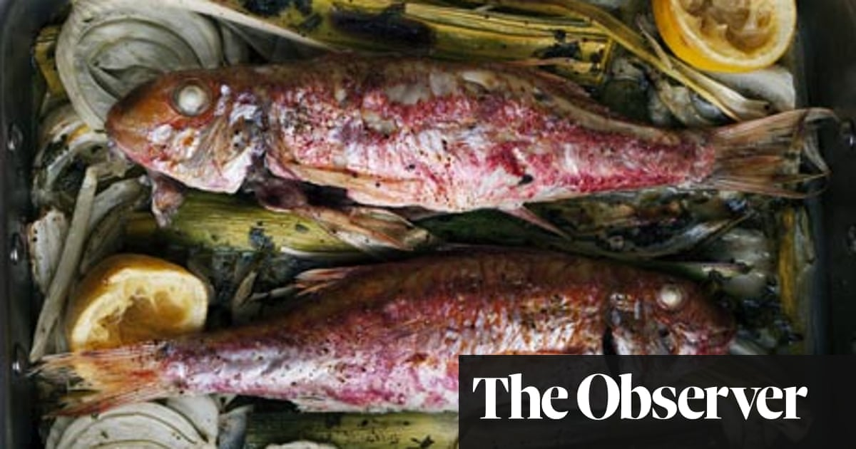 Nigel Slater S Fish Recipes Food The Guardian