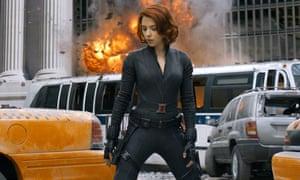 Scarlett Johansson, The Avengers 2012