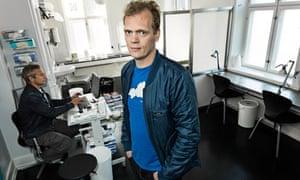 Ivan Christensen, drug worker, Copenhagen