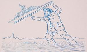 Jeremy Deller: Abramovich yacht thrown by William Morris