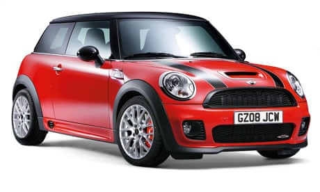 mini car review technology the guardian. Black Bedroom Furniture Sets. Home Design Ideas