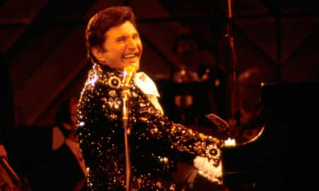 LIBERACE on stage