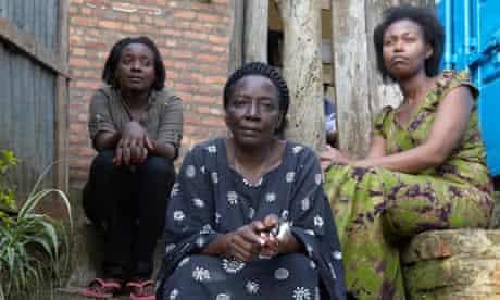 Rwandan genocide survivors
