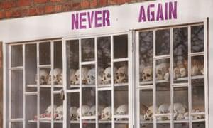 rwandan genocide - skulls of the victims