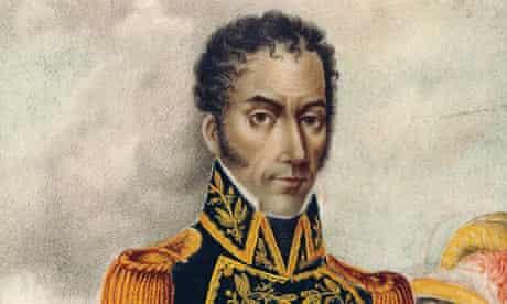 Simon Bolivar marie arana