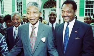 Nelson Mandela, Jesse Jackson