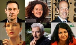 Paul Mason, Alice Taylor, Ian Goldin, Anab Jain, Martin Rees and Bridget McKenzie.