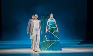 Antwerp - Wim Bruynooghe designs, fashion show