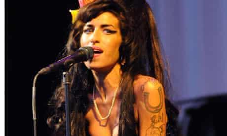 Amy at Glastonbury Festival 2008 Day 2