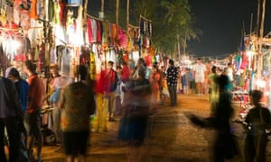 INDIA, Goa, Baga: Saturday Evening Market (NR)