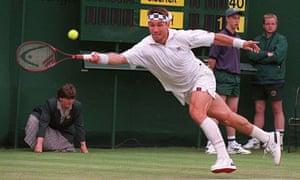 Pat Cash at Wimbledon 1997