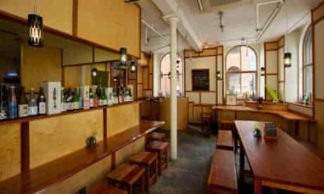 Yuzu restaurant in Manchester