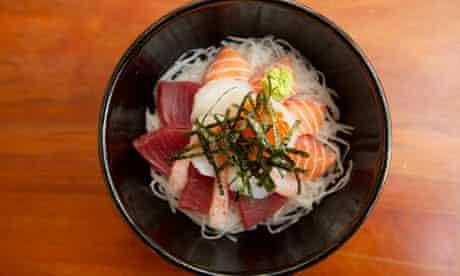 Yuzu restaurant, Manchester: Sashimi Kaisen Don