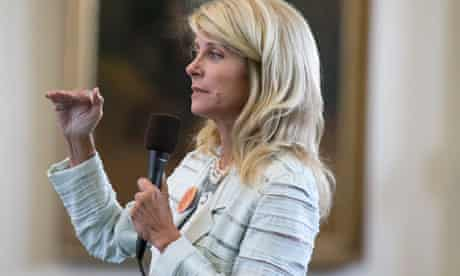 Texas Sen. Wendy Davis filibuster of abortion bills