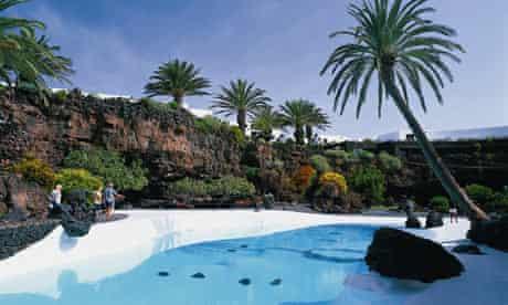 Jameos del Agua's swimming pool, Lanzarote
