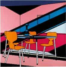 Café Interior: Afternoon 1973