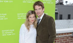 Ethan Hawke and his wife Ryan