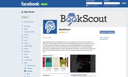 bookscout facebook apps