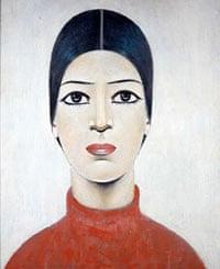 LS Lowry's Portrait of Ann, 1957