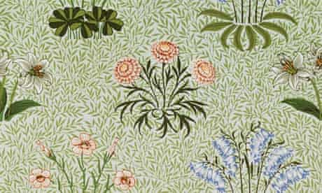 <The Daisy> Wallpaper by William Morris