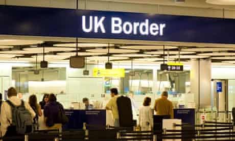 UK border control, Heathrow