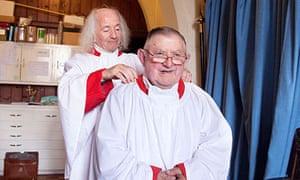 John and George from the choir, St Mary's Church, Tenbury Wells
