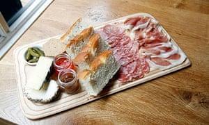 Charcuterie platter at Friends of Ham, Leeds