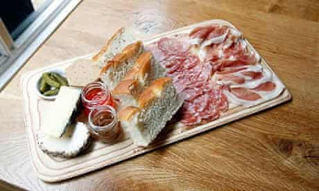 Charcuterie platter at Friends of Ham, Leeds