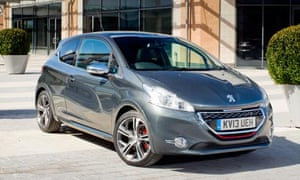 Peugeot 208 Gti Car Review Technology The Guardian