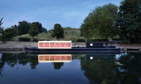 'A magical idea': the Floating Cinema, designed by Duggan Morris.
