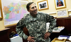 General Petraeus, Henry Porter