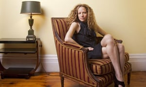 Katie Roiphe  at home in Brooklyn
