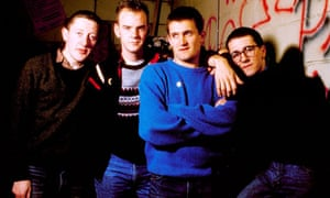The Housemartins, pictured in 1987