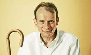 'I'll have to move more slowly now': Andrew Marr at home in London last week.