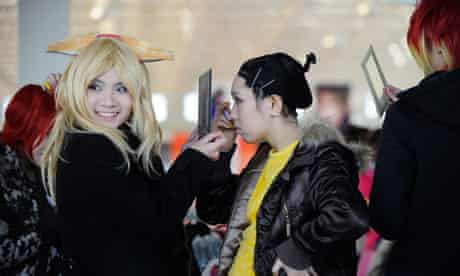 Young women in Beijing