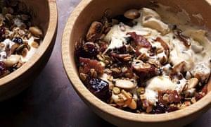 bacon granola in a bowl