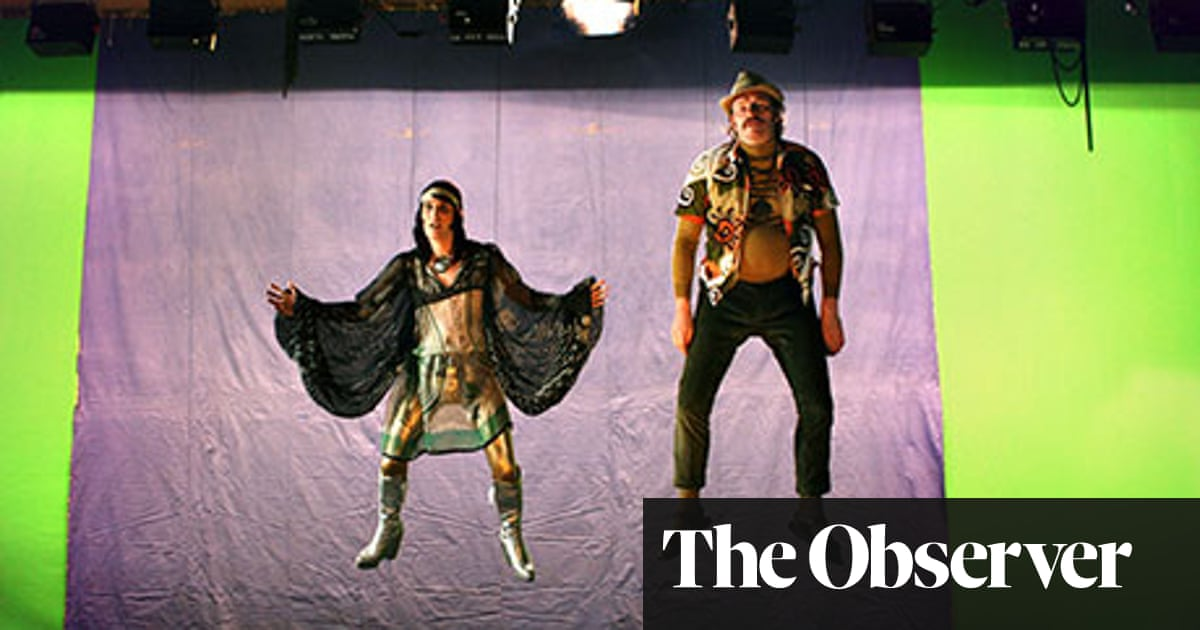 A gorilla's-eye view of the Mighty Boosh | Art and design